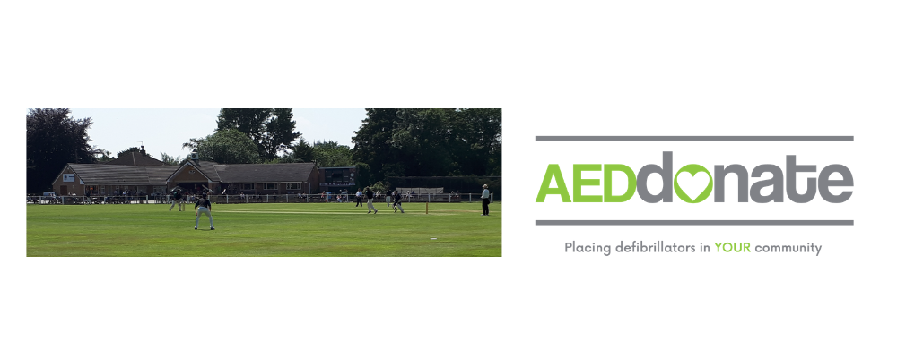 AED for Tickhill Cricket Club