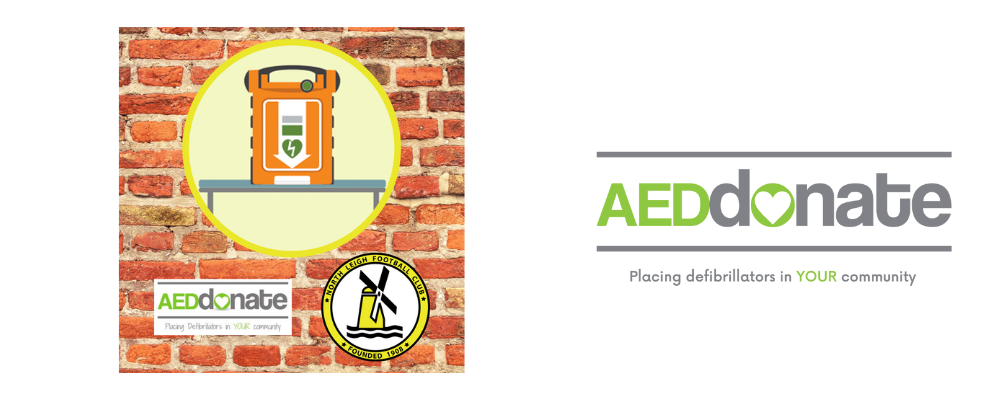 AED for North Leigh Football Club