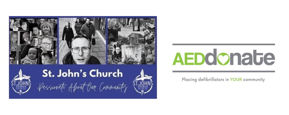 St John's Church, Abbey Hulton Defibrillator Campaigns