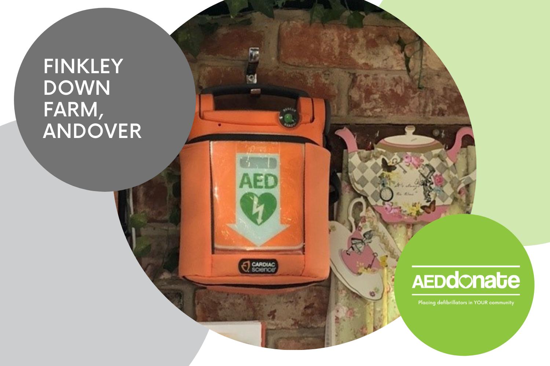 Defibrillator for Finkley Down Farm, Andover